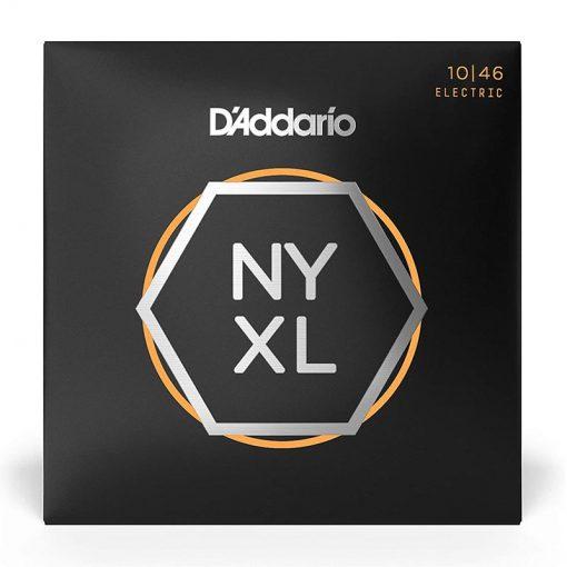 D'Addario NYXL 1046 Nickel Plated Electric Guitar Strings, Regular Light,10-46-1