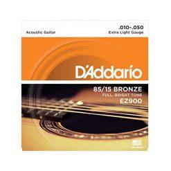 D'addario EZ900 85-15 Bronze Acoustic Guitar Strings-1