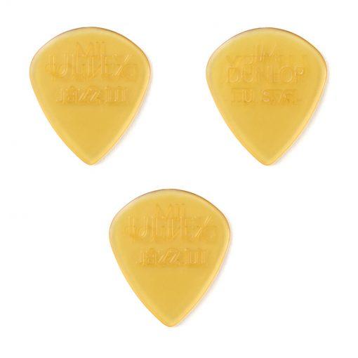 Dunlop Ultex Jazz III Guitar Pick -1.38mm, 3-Pack