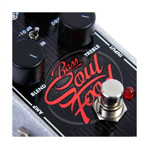 Electro Harmonix Bass Soul Food Overdrive Effects Pedal-1