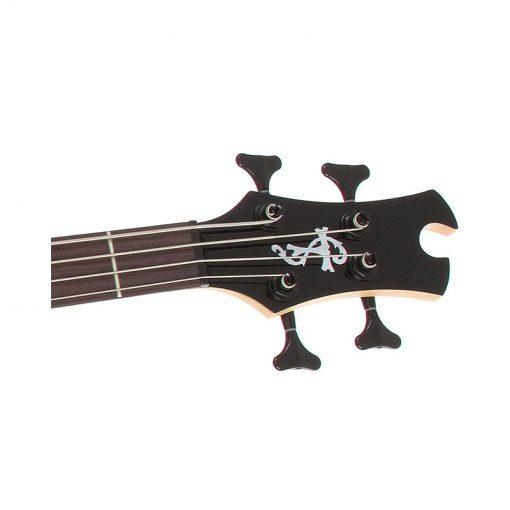 Epiphone Toby Deluxe-IV 4-String Bass Guitar, Satin Translucent Black-2