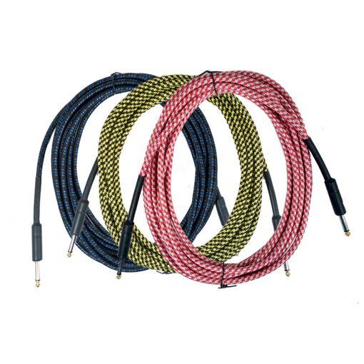 Guitar Cable -6m, Multi Color