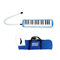 JDR Melodica 32 keys Piano Style Keyboard With Soft Case, Blue