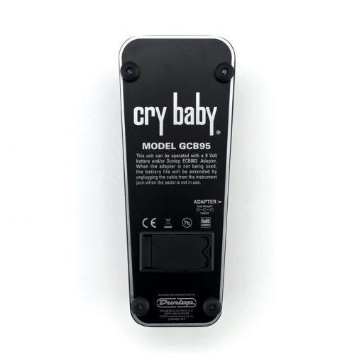 Jim Dunlop GCB95 Cry Baby Original Wah Guitar Effects Pedal -4