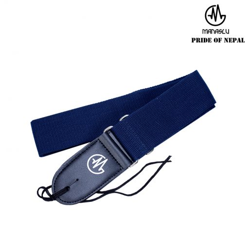 Manaslu Guitar Strap, Blue-01