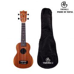 Manaslu MUS 21inch Soprano Ukulele with Bag-01