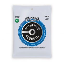 Martin MA170 Authentic Acoustic 80-20 Bronze Extra Light Guitar Strings-1