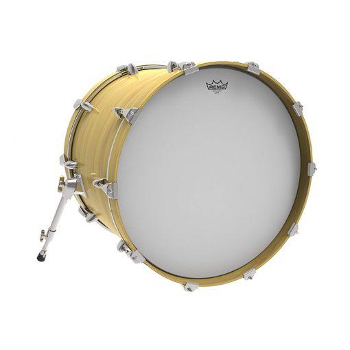 Remo BR-1118-00 18 inch Ambassadar Coated Bass Drum Head-2