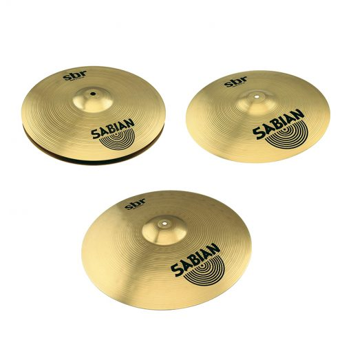 Sabian SBR Performance Pack with 14 Hat, 16 Crash, and 20 Ride Cymbals-1