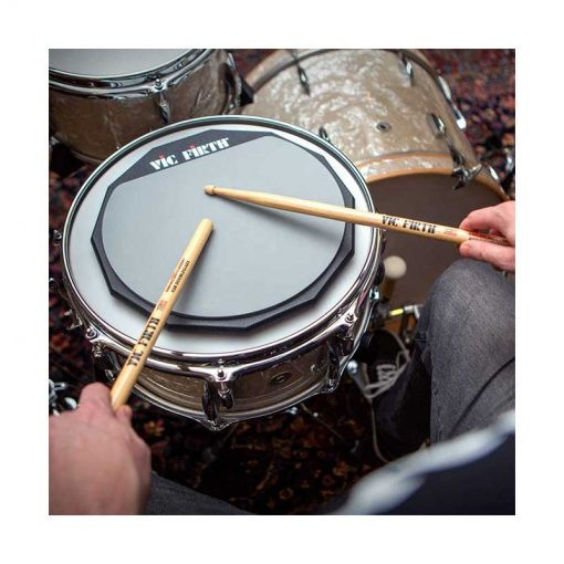 Vic Firth 6 Inch Single Sided Practice Pad for Drummers-2