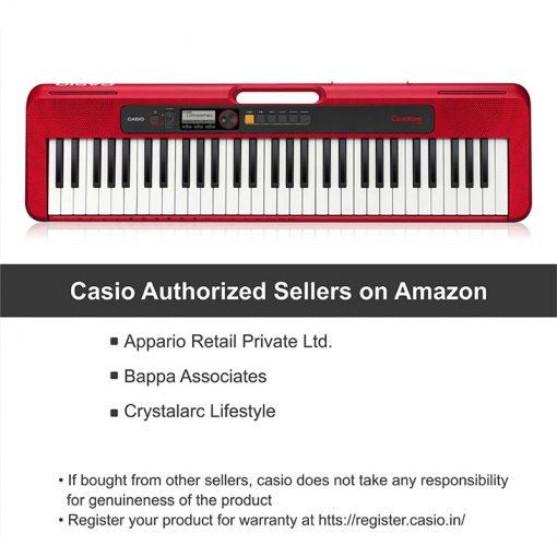 Casio CT-S200-rd Casiotone 61-Key-2