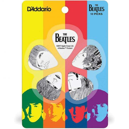 DAddario Beatles Guitar Picks, Revolver, 10 pack, Heavy-01