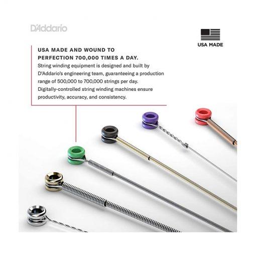 DAddario EJ26 Phosphor Bronze Acoustic Guitar Strings, Custom Light, 11-52-05