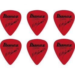Ibanez B1000KL-RD Kiko Loureiro Guitar Pick Set,Red, 6pcs-02