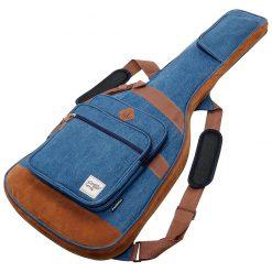 Ibanez IGB541D-BL Powerpad Designer Collection Electric Guitar Bag, Blue Denim -01