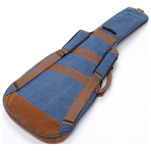 Ibanez IGB541D-BL Powerpad Designer Collection Electric Guitar Bag, Blue Denim -03
