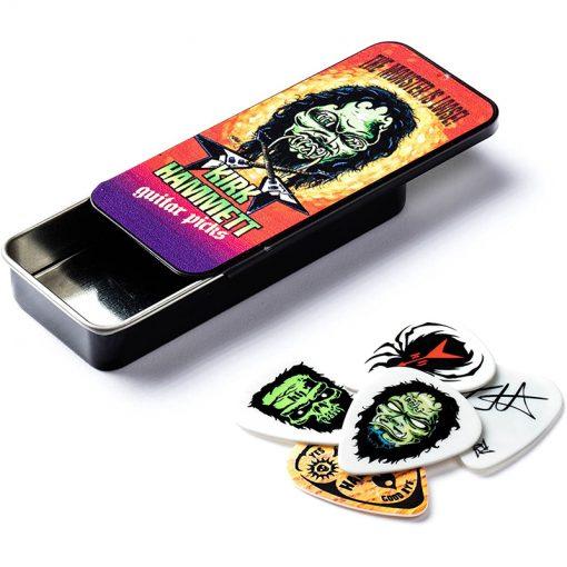 Jim Dunlop KH01T088 Kirk Hammett Monster Loose Pick Tin -01
