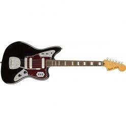 Squier Classic Vibe 70s Jaguar Electric Guitar Laurel FB, Black -03