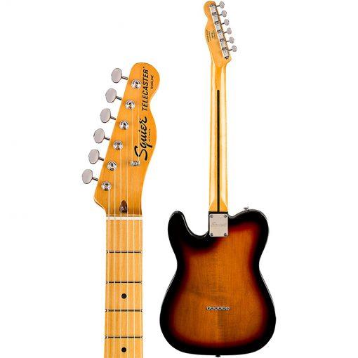 Squier Classic Vibe 70s Telecaster Thinline Electric Guitar,3-Tone Sunburst-04