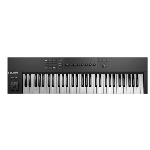 Native Instruments Komplete Kontrol A61 Keyboard Controller-02