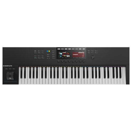Native Instruments Komplete Kontrol S61 Mk2 Keyboard Controller-01
