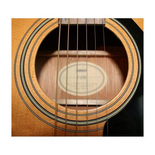 Yamaha F310 Acoustic Guitar, Natural-05