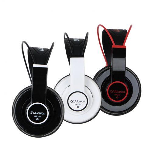 Alctron HP280 Closed monitoring headphones, Black-04