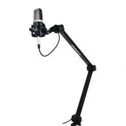 Alctron MA614 Broadcasting Mic Stands, Black-01