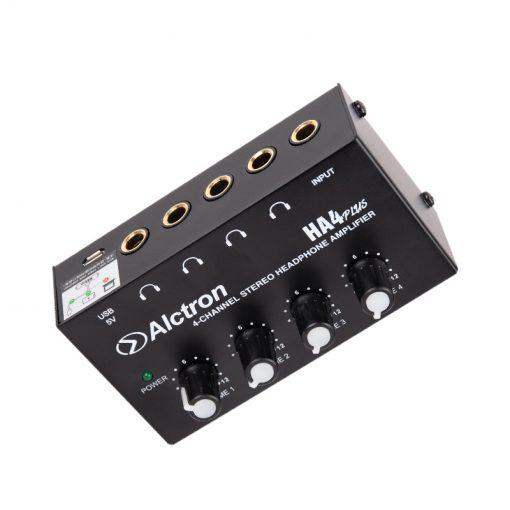 Alctron Mini 4-channel headphone amplifier-12