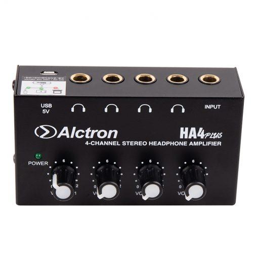 Alctron Mini 4-channel headphone amplifier-13