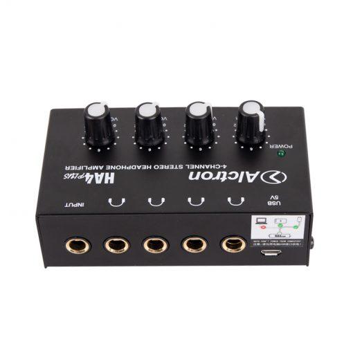 Alctron Mini 4-channel headphone amplifier-15