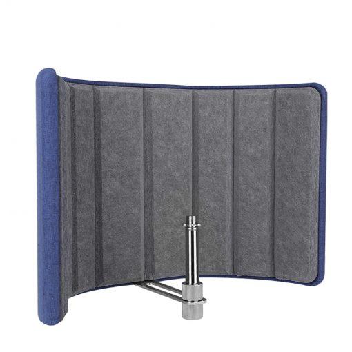 Alctron VB660 Acoustic diffuser screen, Portable Vocal Booth-01