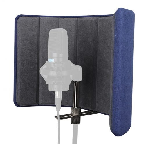 Alctron VB660 Acoustic diffuser screen, Portable Vocal Booth-06